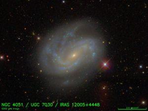 My favourite AGN, NGC 4051